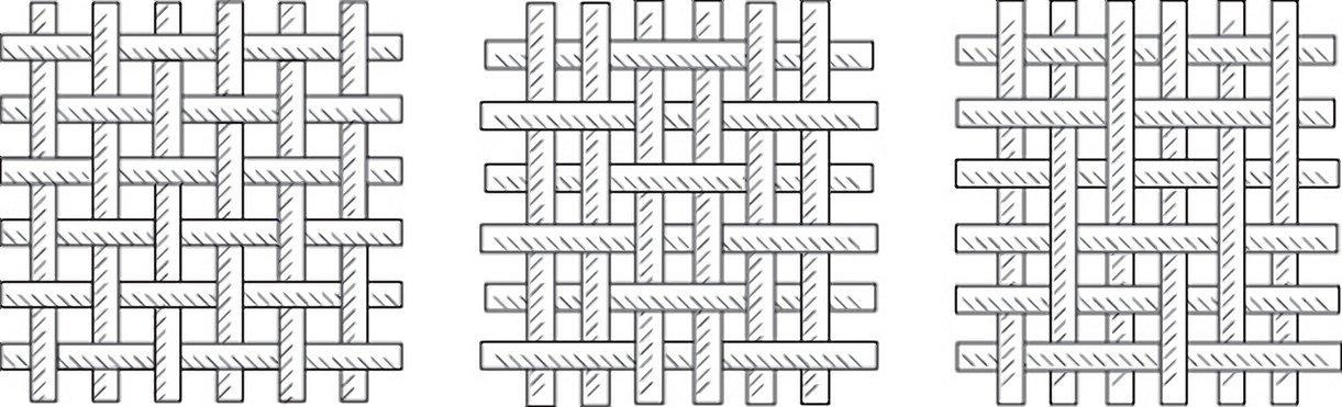 Ломаная саржа переплетение схема