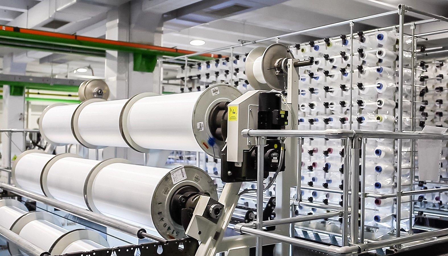Производство текстильного волокна