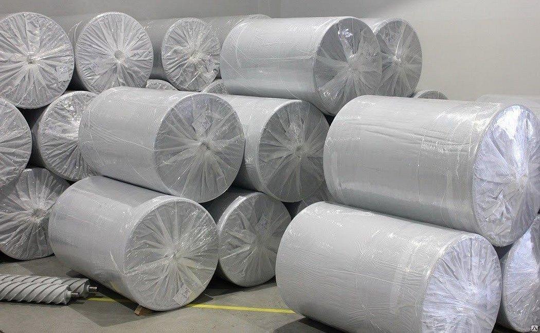 Полипропиленовая ткань для мешков серая качественное