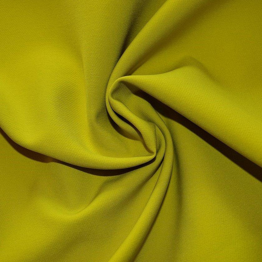 Ткань костюмная горчичного цвета
