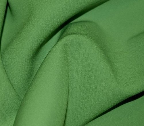 Ткань костюмная полушерстяная зеленая