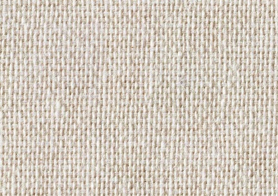 Белая ткань рогожа фактура