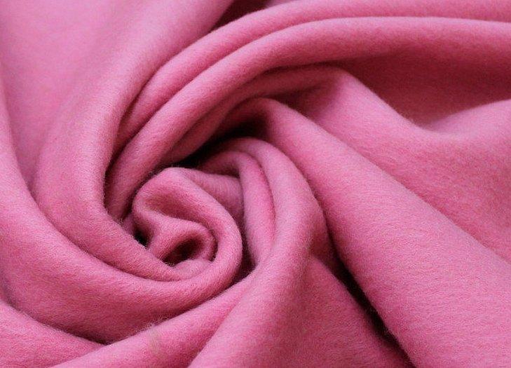 Ангора розовая ткань