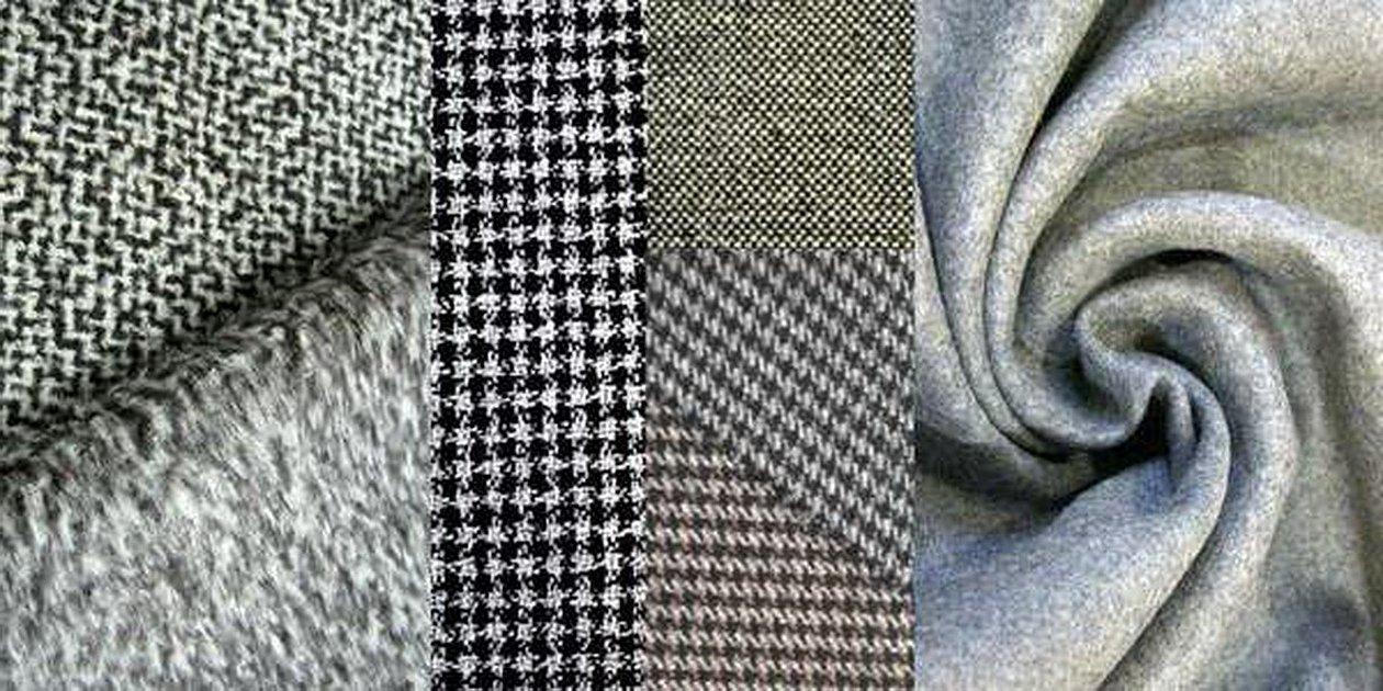 Шерстяная костюмная ткань s