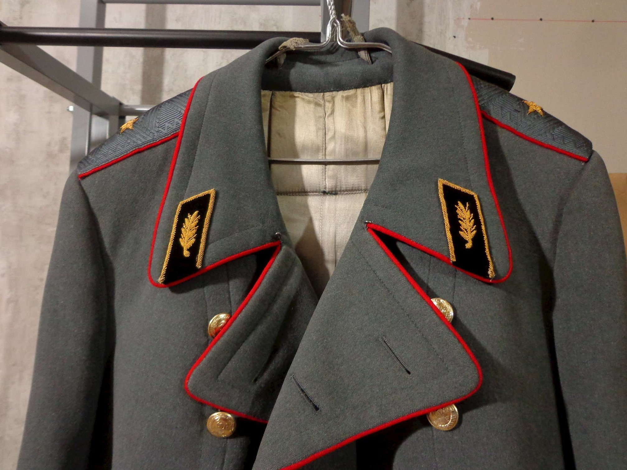 Шинель генеральская советской армии