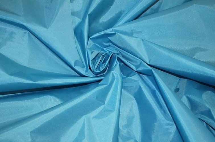 Подкладочная ткань бирюзового цвета