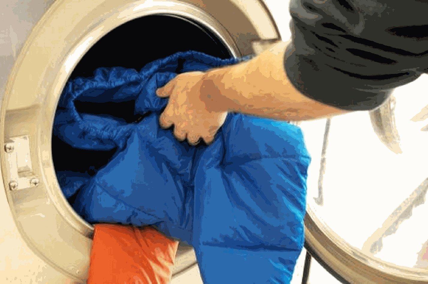 Стирка пуховика в стиральной машине