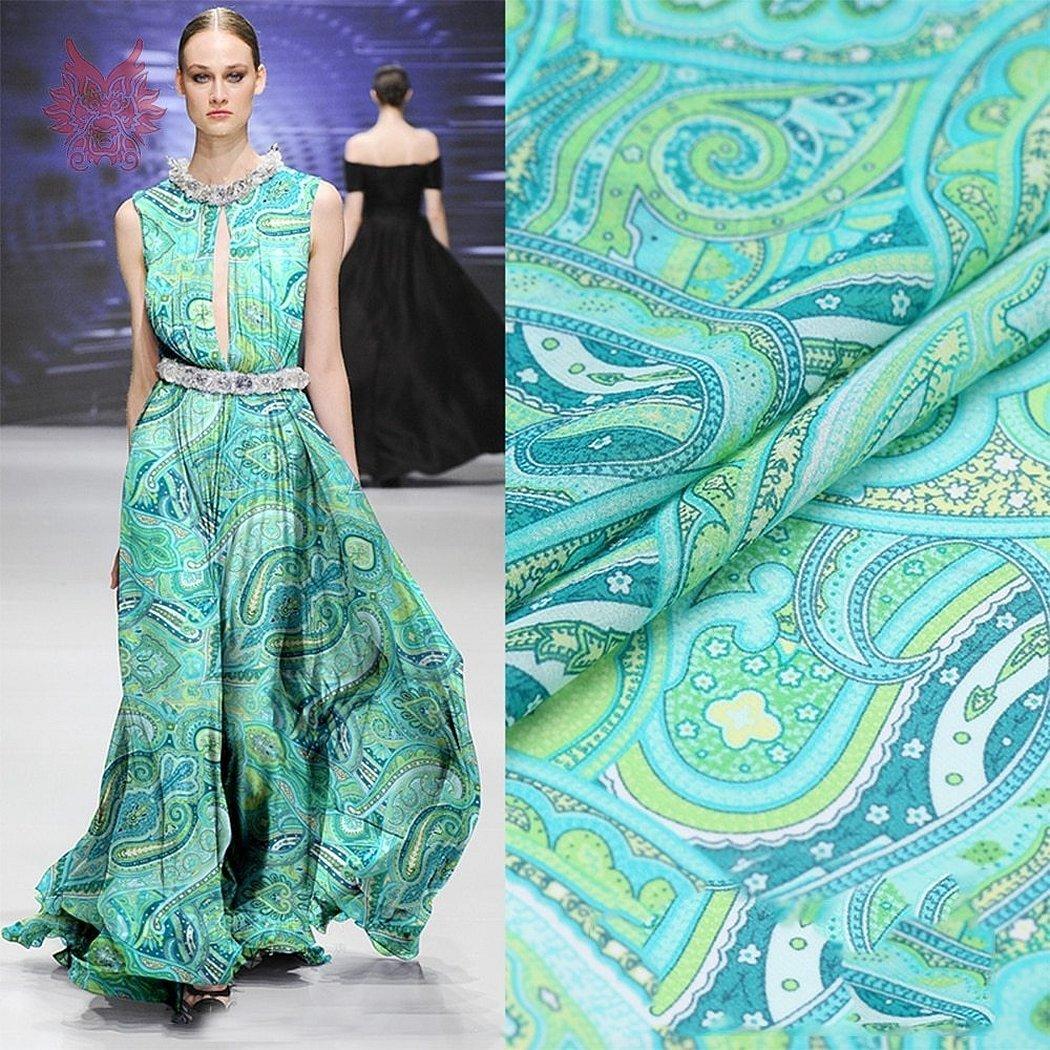 Летние платья из ткани пейсли