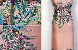 Купонная ткань: платье из него, как сшить юбку из материала, фасоны