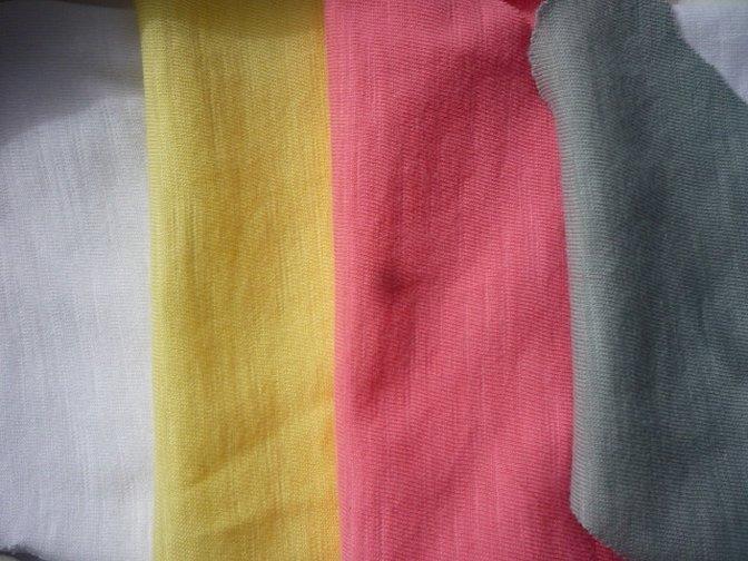 Ткань лен цветной