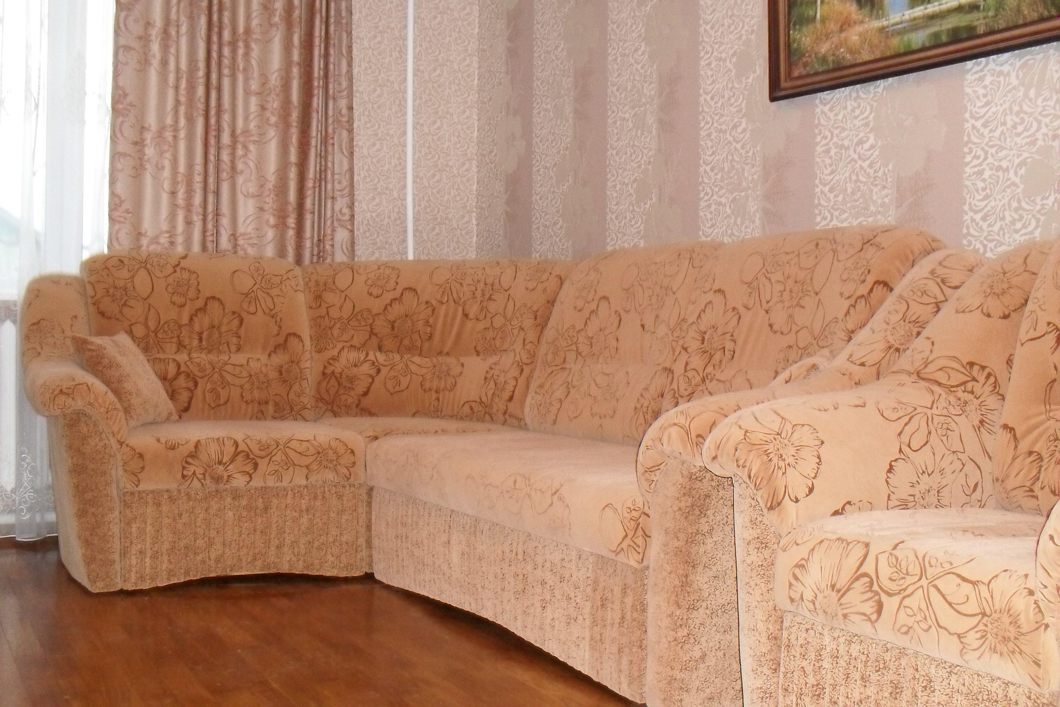 Ткань для мягкой мебели флок