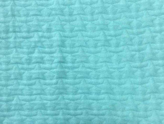 Стеганая ткань текстура бирюзовая