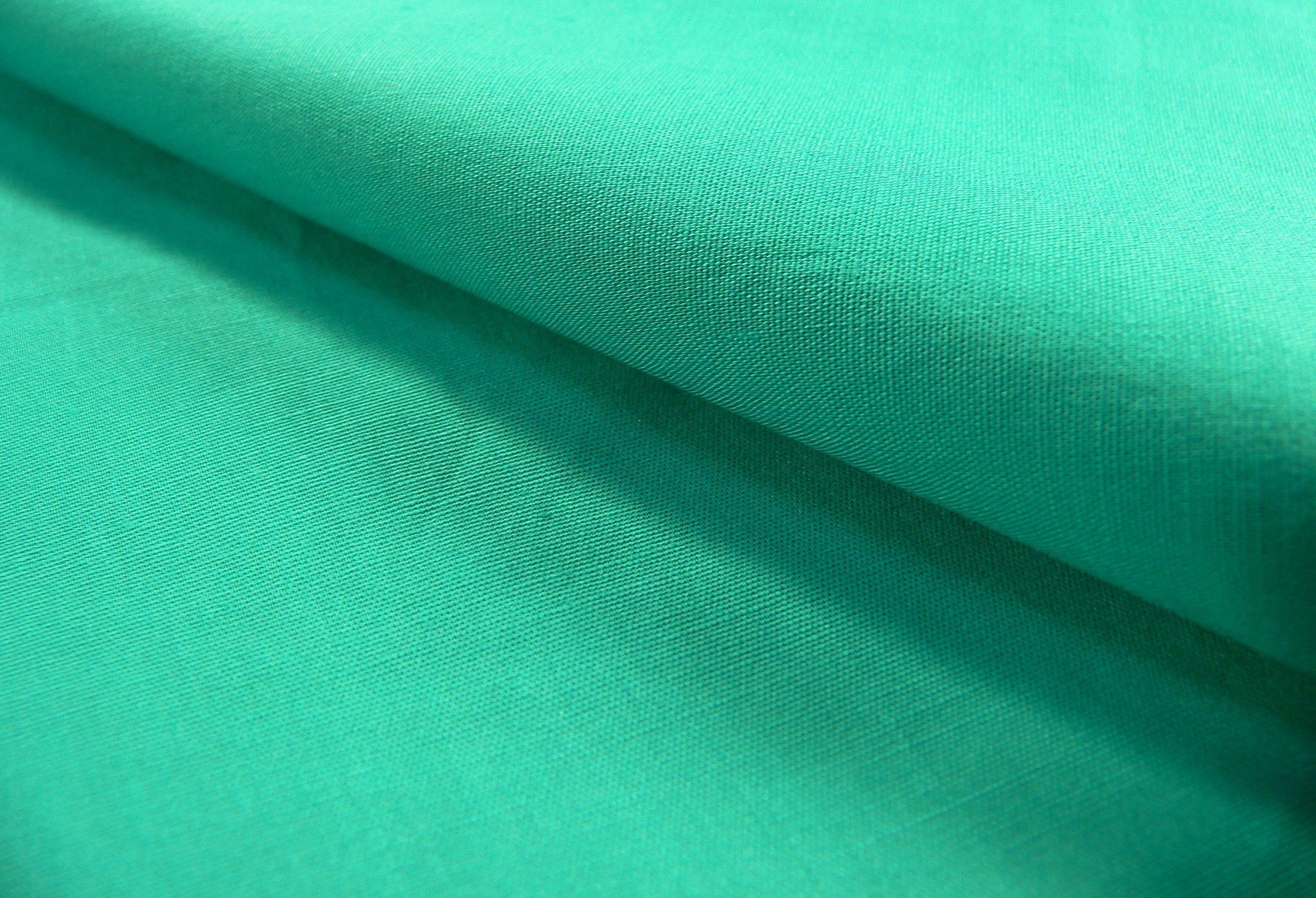 Бирюзовая костюмная ткань
