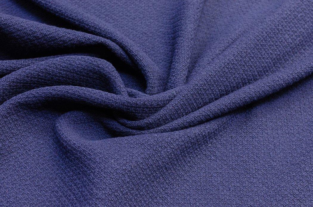 Ткань голубая костюмная плательная