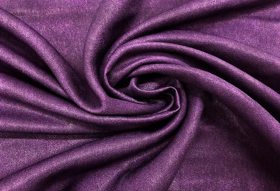 Ткань портьерная баклажанового цвета