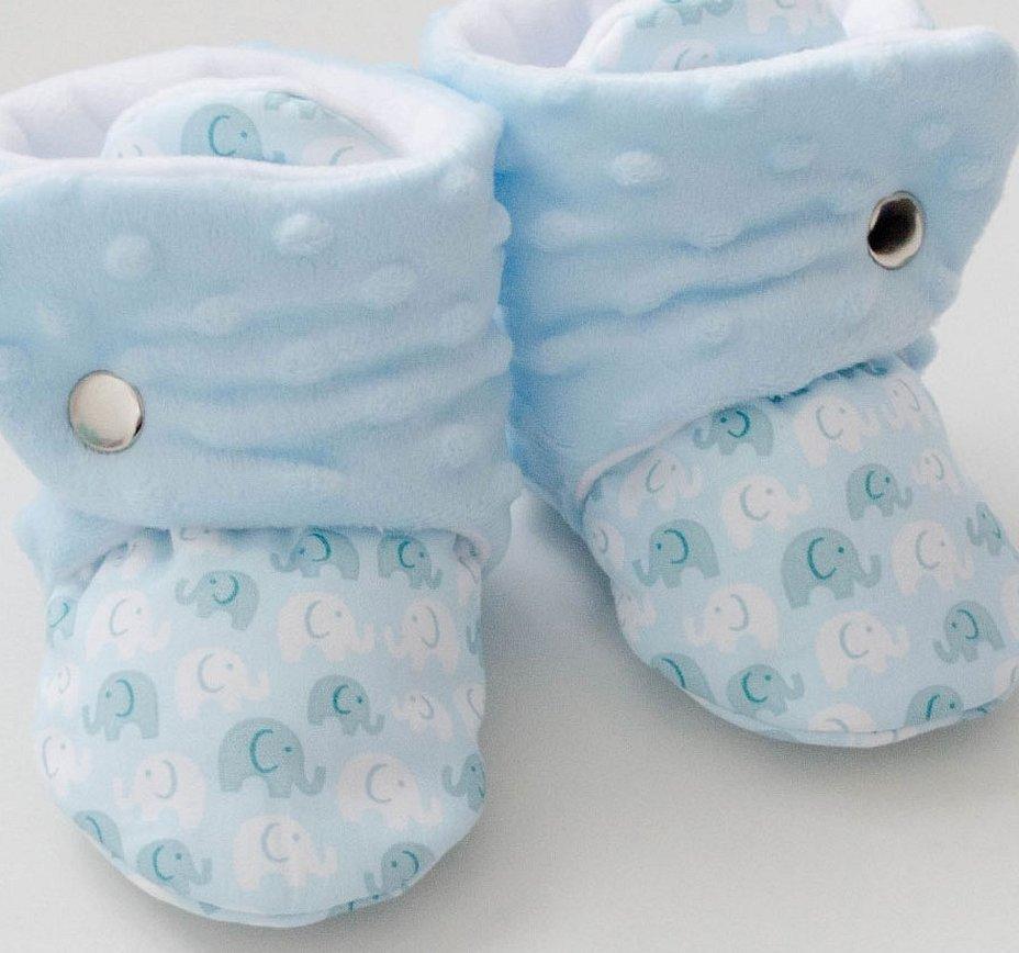 Пинетки для новорожденного мальчика милые