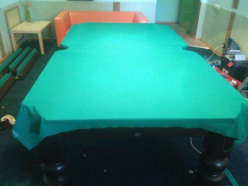 Сукно для бильярдного стола сторона