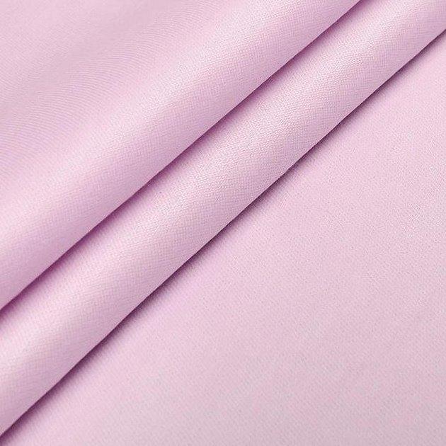 Розовый однотон сатин ткань