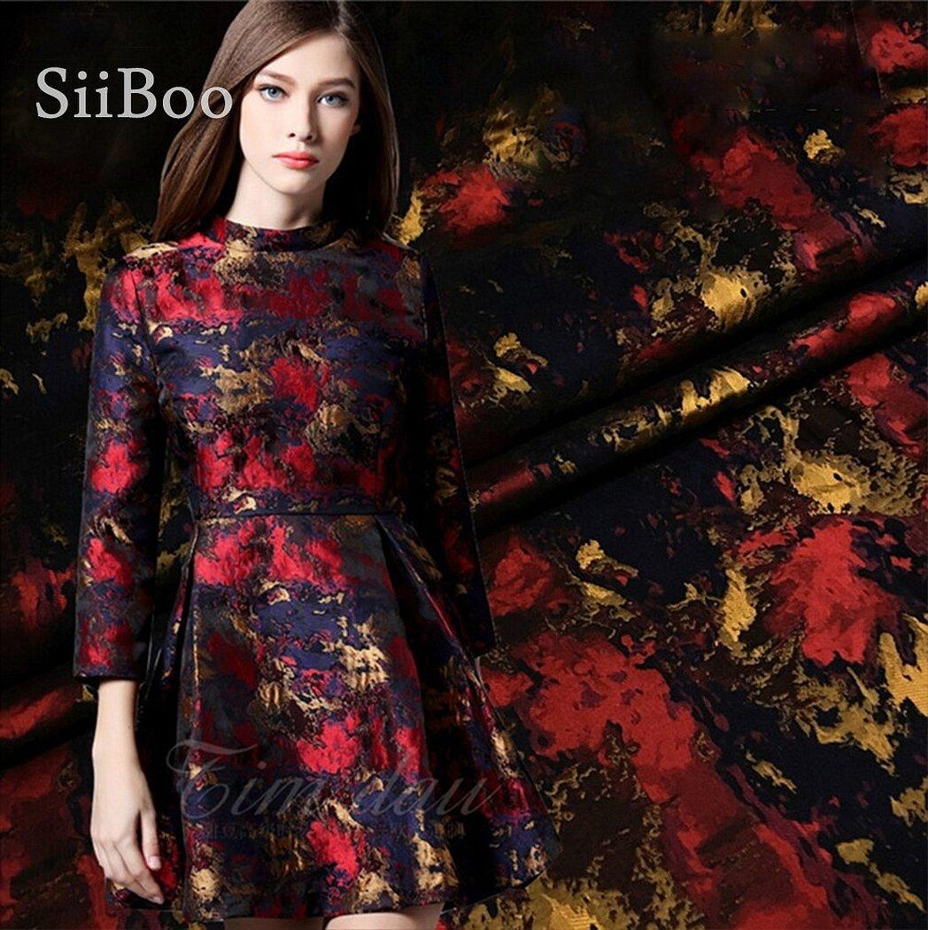 Роскошный жаккард ткани для платья