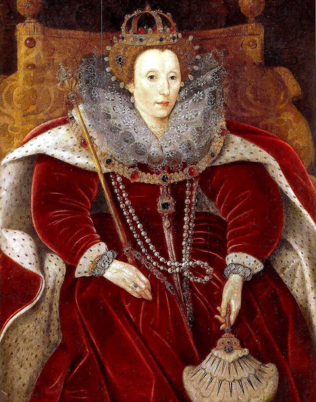 Портреты молодой елизаветы тюдор