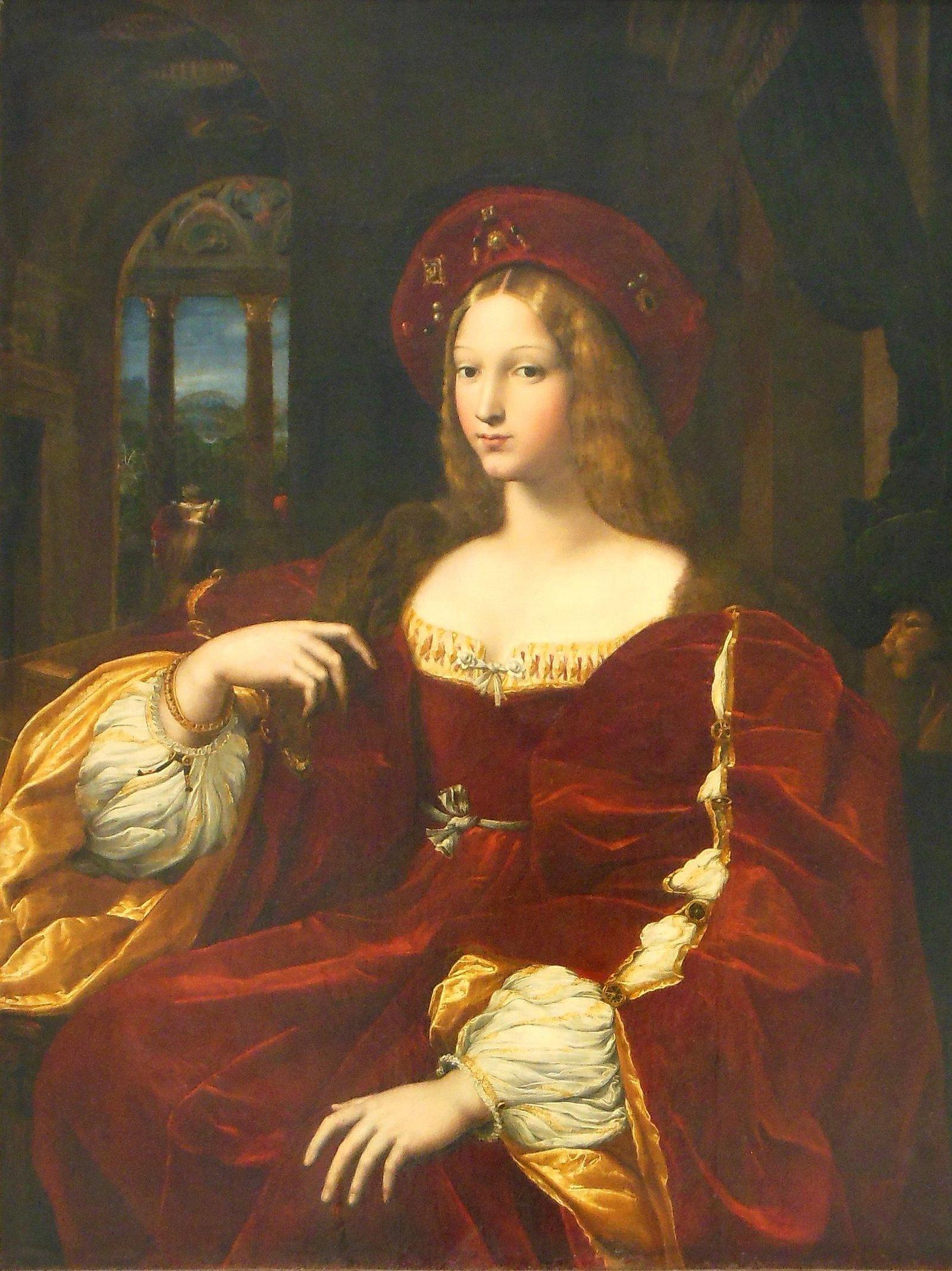 Рафаэль портрет иоанны арагонской vikipedija
