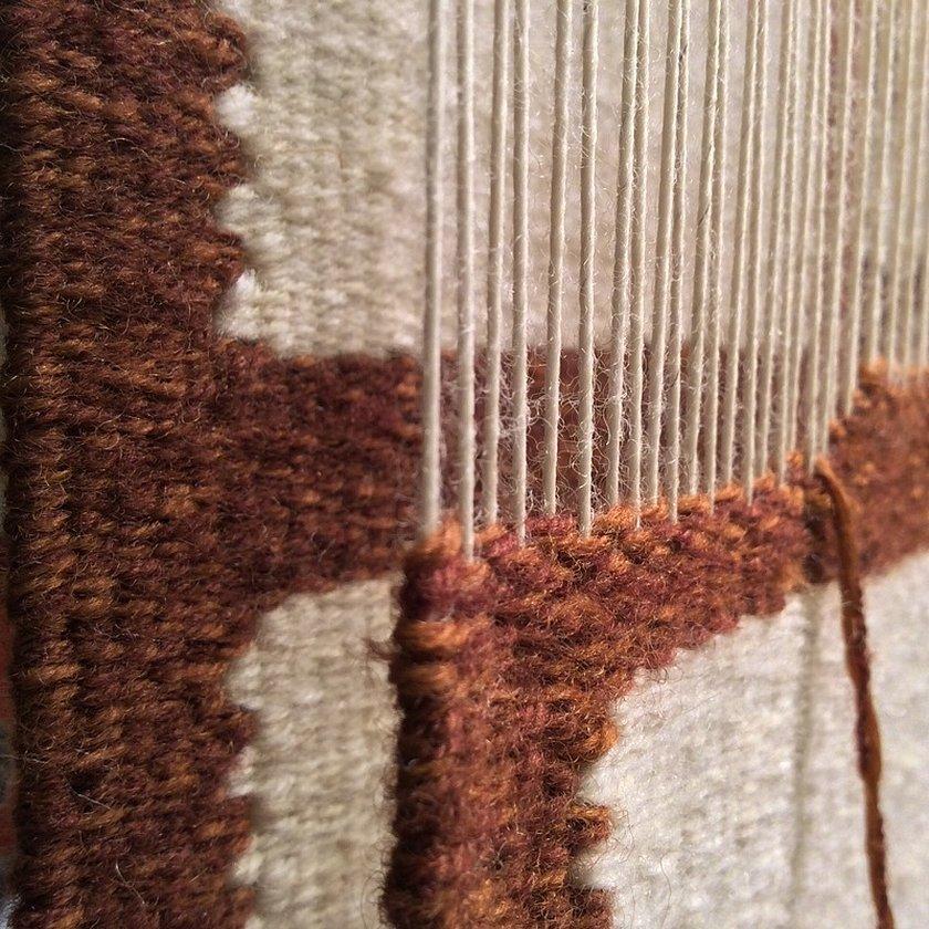 Ткачество гобелена схема ткачества