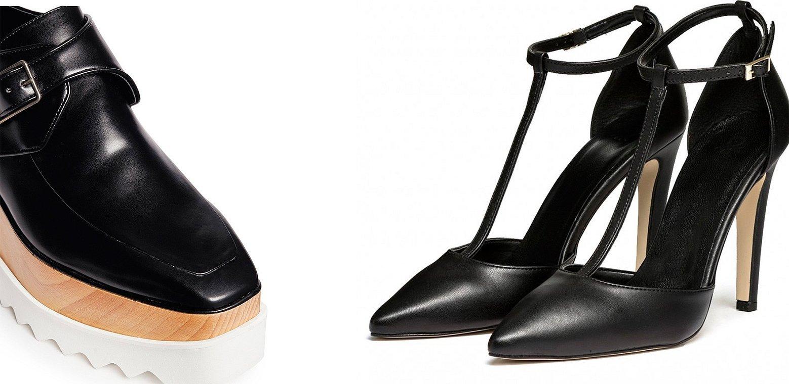 Обувь из искусственной кожи туфли