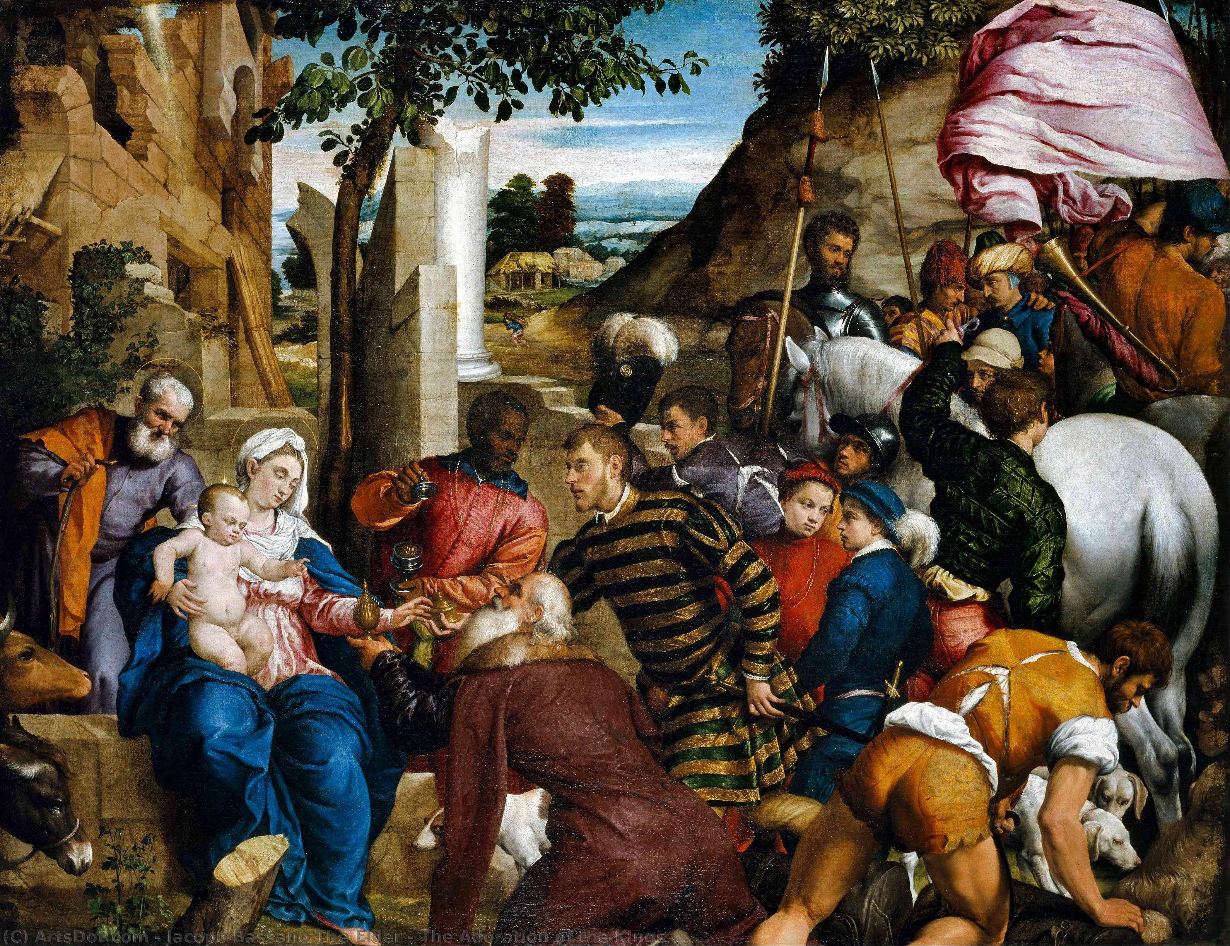 Бонифацио веронезе поклонение пастухов