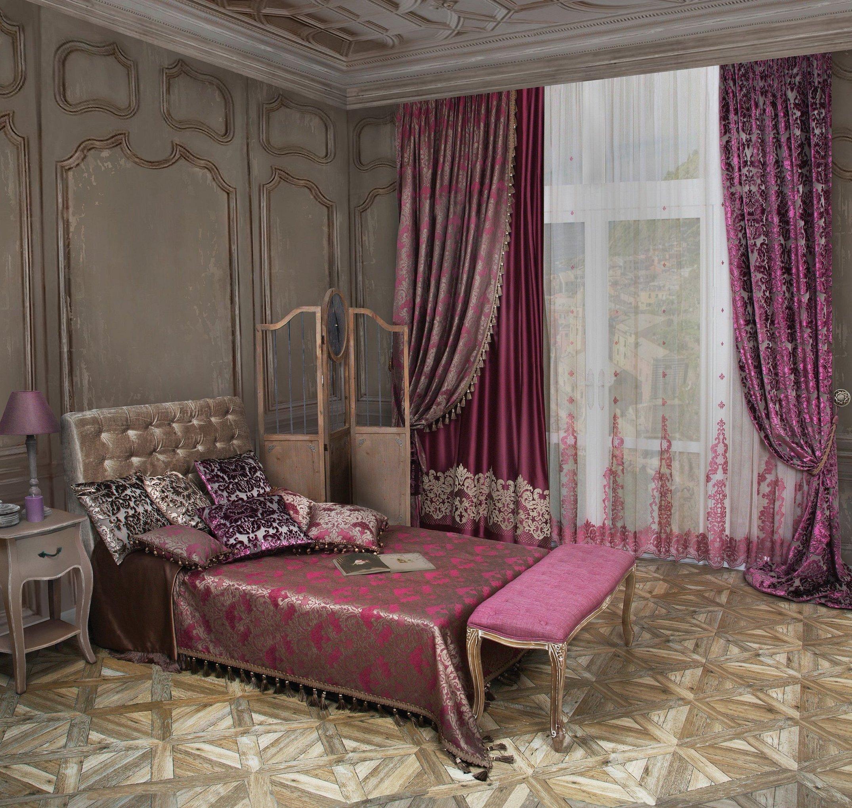 Красивая спальня в восточном стиле