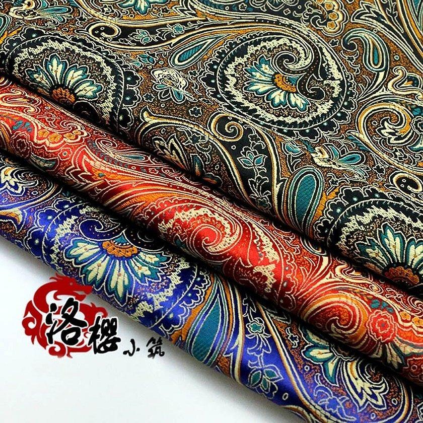 Шелковые ткани парча атлас