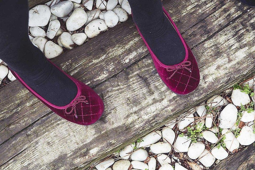 Тапочки на каблуке