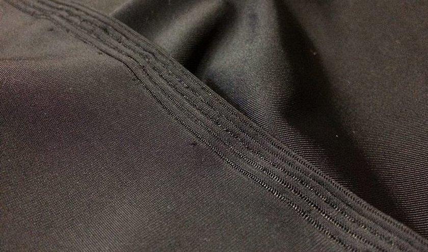 Материал лен ткань черный