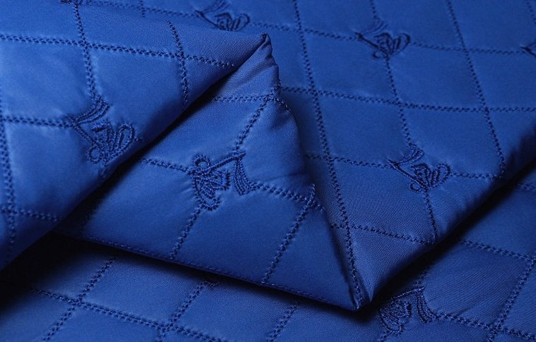 Ткань курточная стеганая на синтепоне