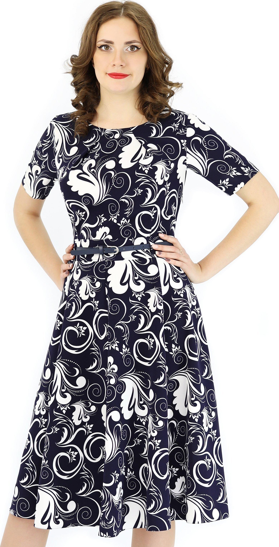 Платье с принтом olivegrey