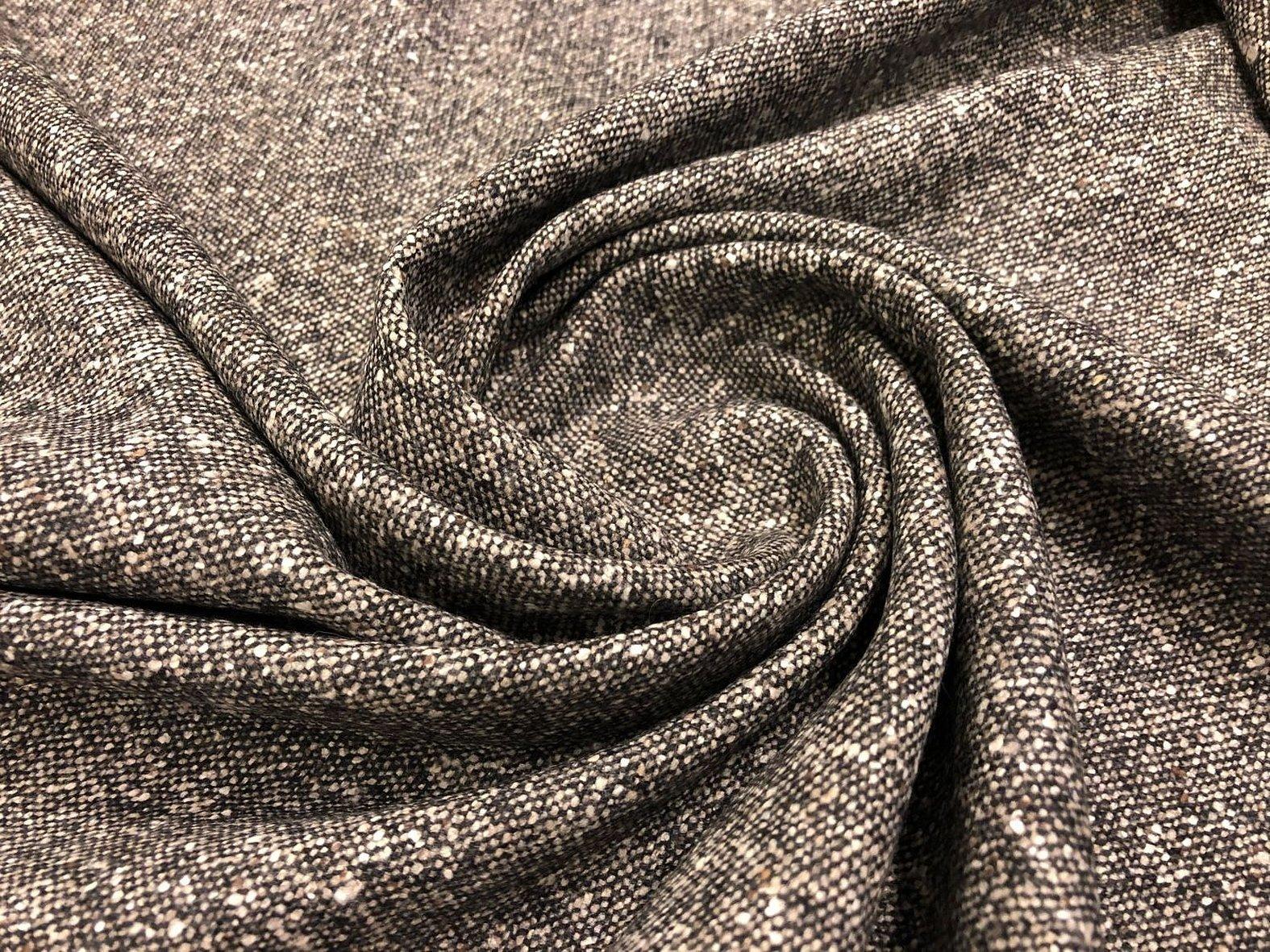 Серое сукно ткань пальтовая