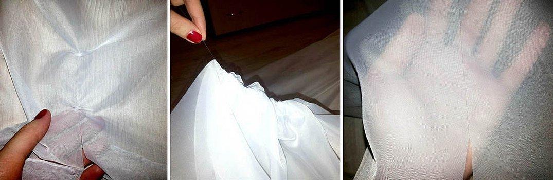 Технология шитья платья из тюли