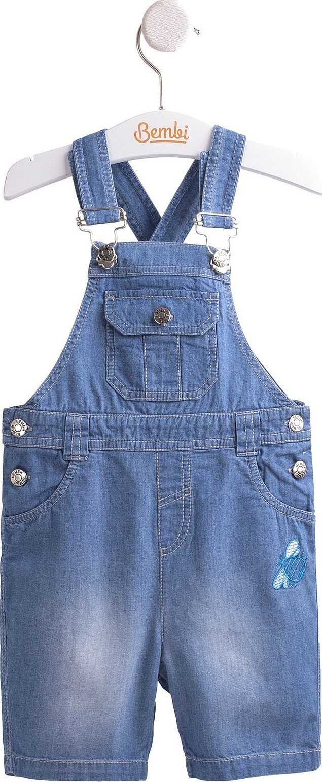 Детский джинсовый комбинезон шортами