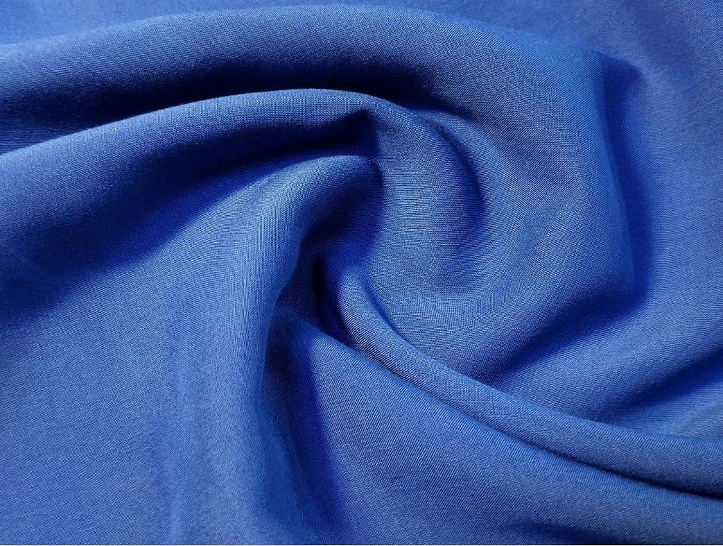 Ткань креп шелк однотонный