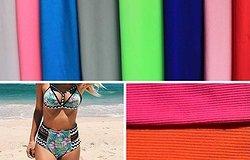 Ткань для купальника для пляжа: как называется, из какой материи шьют