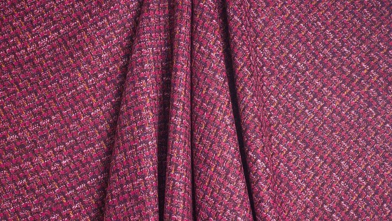 Ткань шанель костюмная