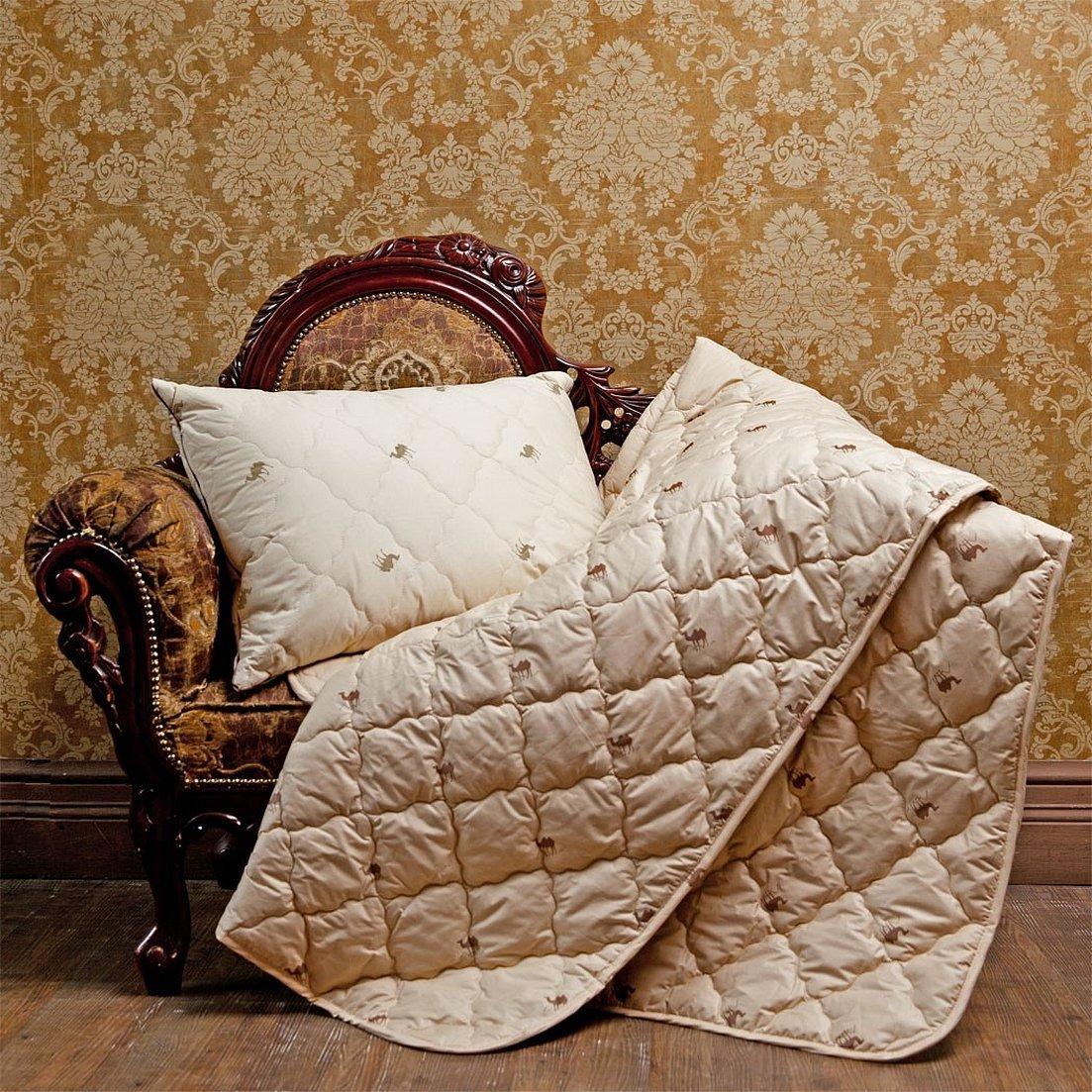 Одеяло из овечьей шерсти в интерьере