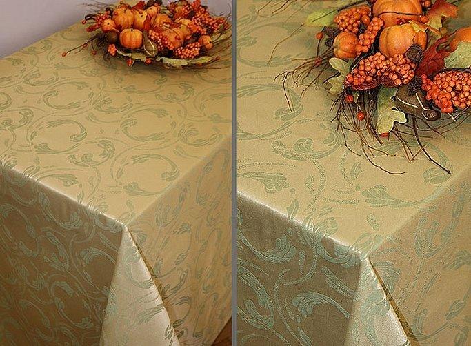 Скатерть на стол тканевая