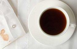Как отстирать кофе с одежды