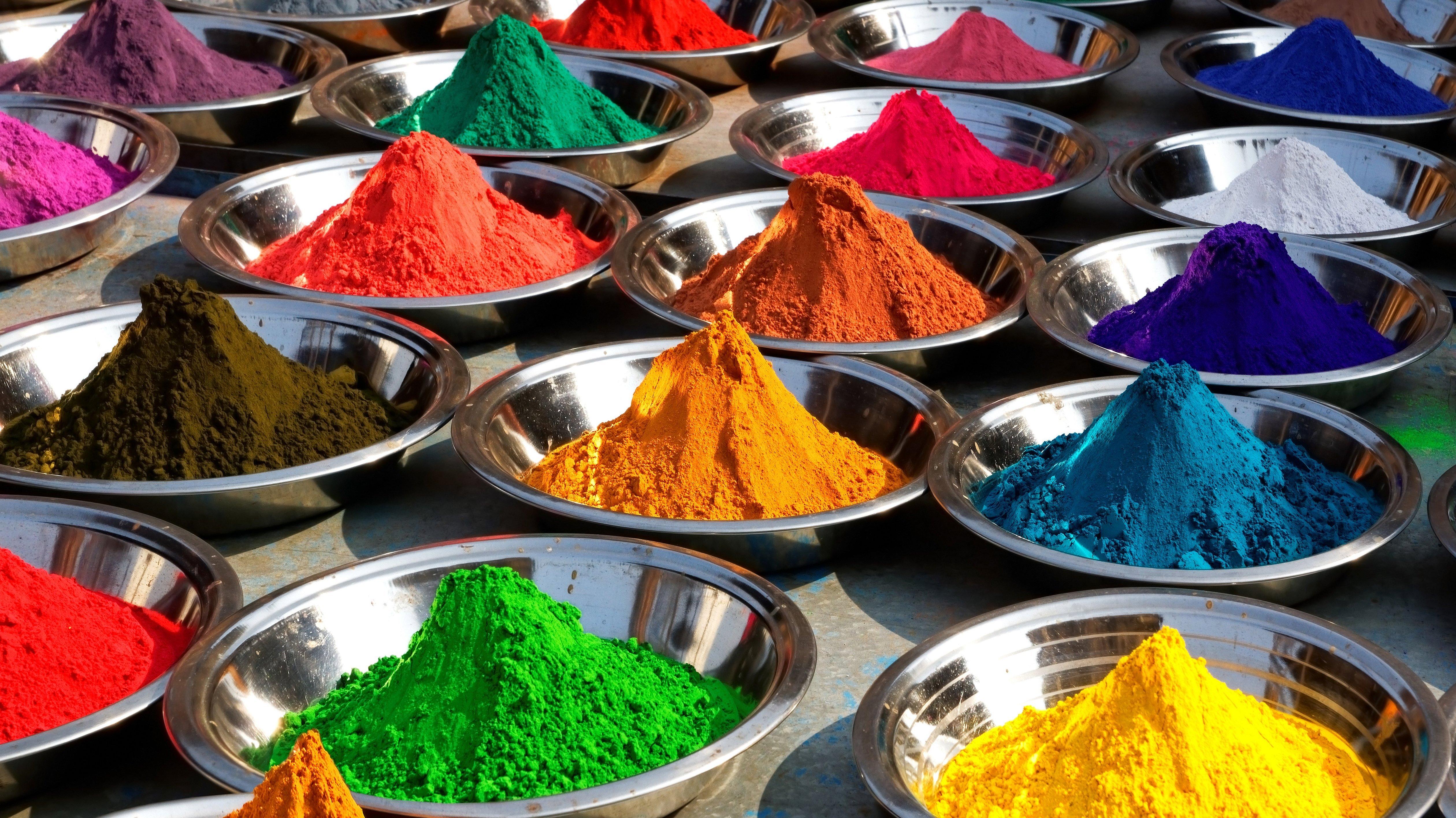 Индийские натуральные красители