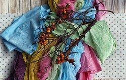 Как покрасить ткань: самостоятельно дома или в химчистке?