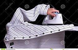 Как правильно гладить рубашки с длинным рукавом