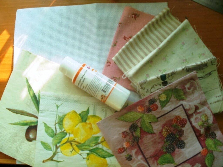 Салфетки для декупажа на ткани