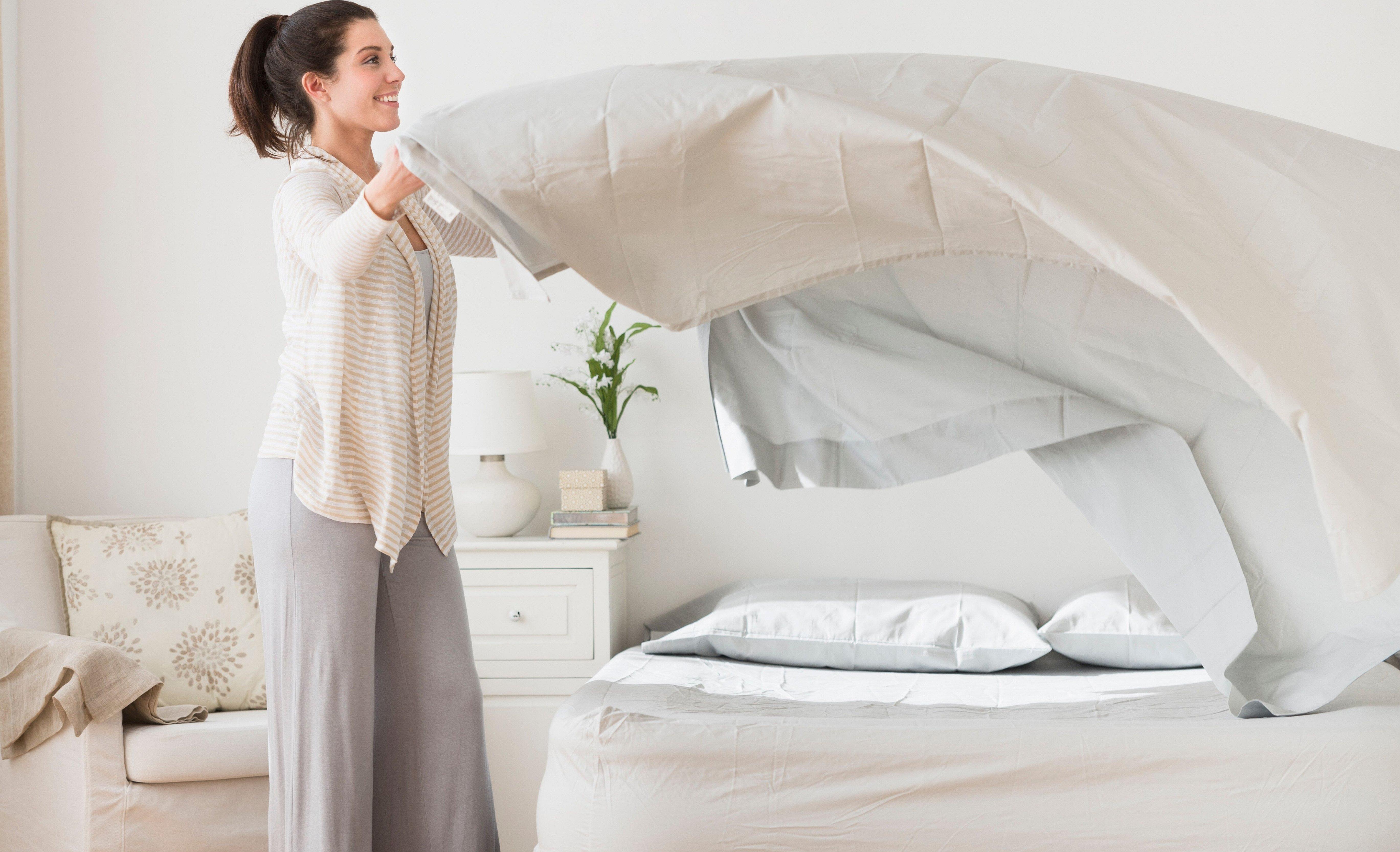 Сон в котором постиранное чистое постельное бельё
