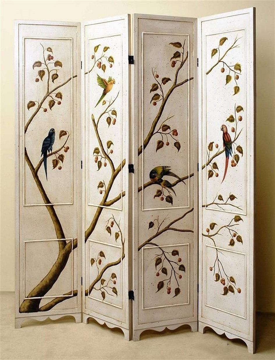 Художественная роспись мебели шкафы
