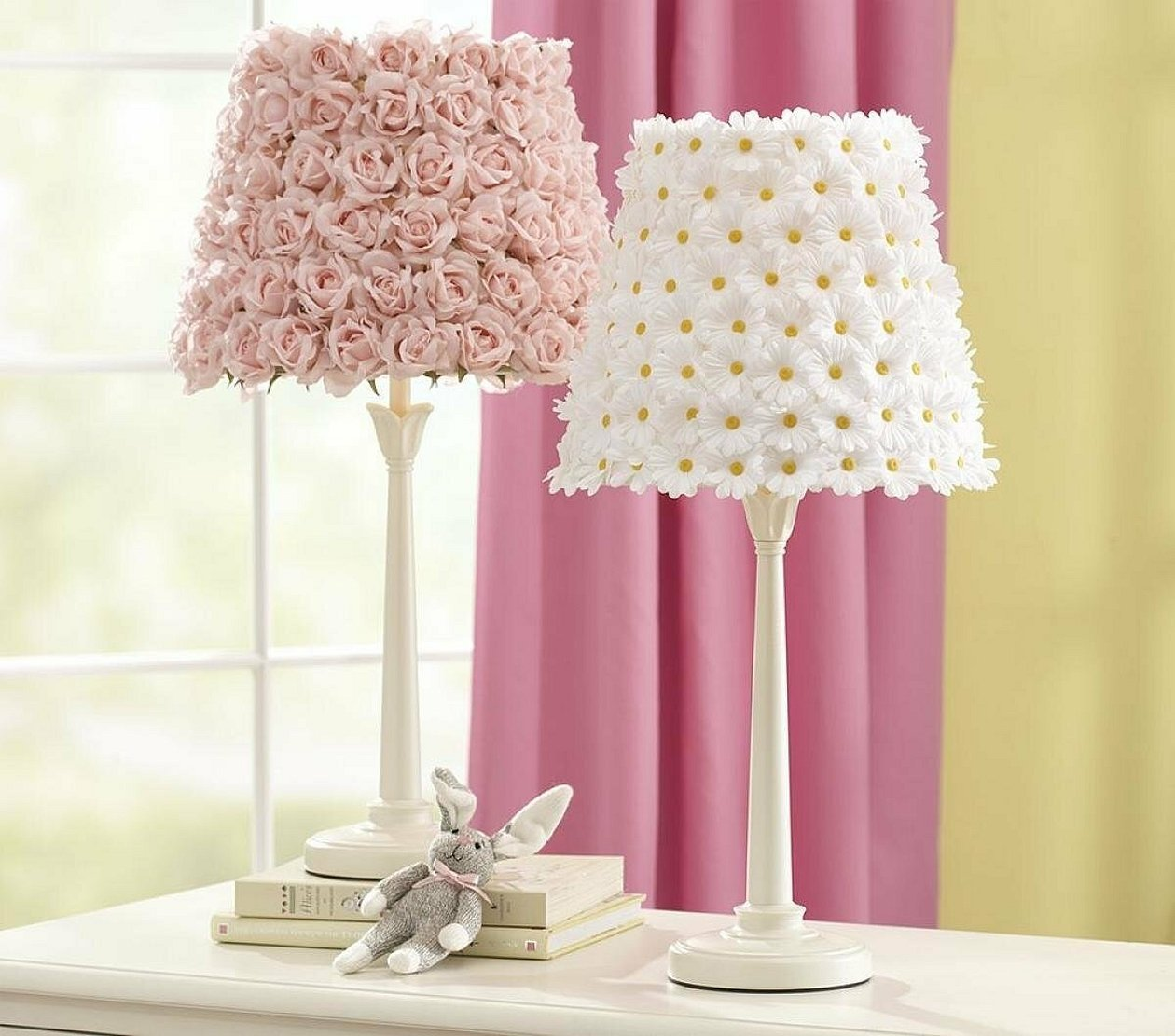Декор настольной лампы своими руками